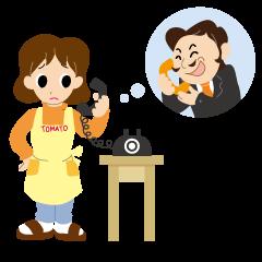 「電話勧誘」の画像検索結果